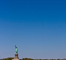 Statue of Liberty by Diane Robertson
