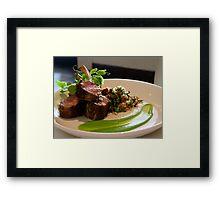 Try Taverna! Framed Print