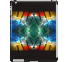 Dark Colorful Flame Reflections iPad Case/Skin