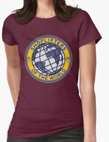 Shoplifters Of The World Womens Fitted T-Shirt