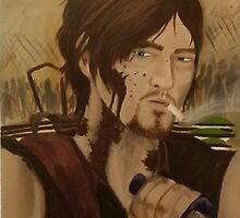 Daryl Dixon by nocturnalpaint