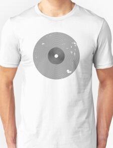 Vinyl Records Lover - Grunge Vinyl Record T Shirt T-Shirt