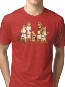 Hipster Meerkats Tri-blend T-Shirt