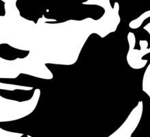Black and White Turing Sticker