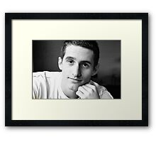 CHRIS Framed Print