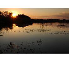 Okavango Delta Sunset - Botswana Photographic Print