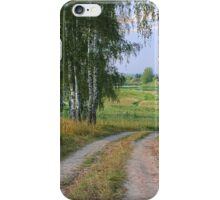 Early Evening in Late Summer iPhone Case/Skin
