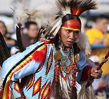 Powwow Dancer by rwilks