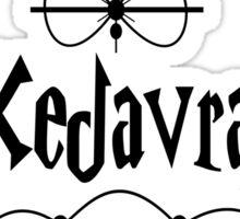 Avada Kedavra Chick Sticker