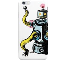 Really Rad Retro Robot iPhone Case/Skin