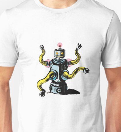 Really Rad Retro Robot Unisex T-Shirt