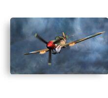 Flying Tiger P40 Warhawk Canvas Print