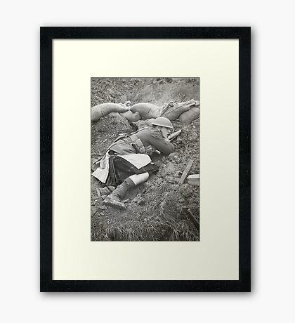 Poor Bloody Infantry Framed Print