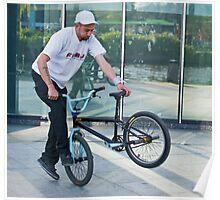 BMX Stunt Rider - Amsterdam Poster