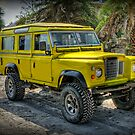 Yellow Jeep by Adrian Evans