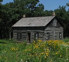 1845 Fur Trading Post by swaby