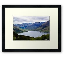 Still Waters of Loch Duich Framed Print
