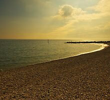 Sunsetting over West Bay Dorset by Elaine123