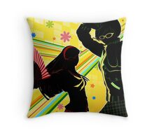 Persona 4 - Chie and Yukiko Throw Pillow