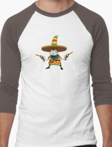 Crazy Mexican Men's Baseball ¾ T-Shirt