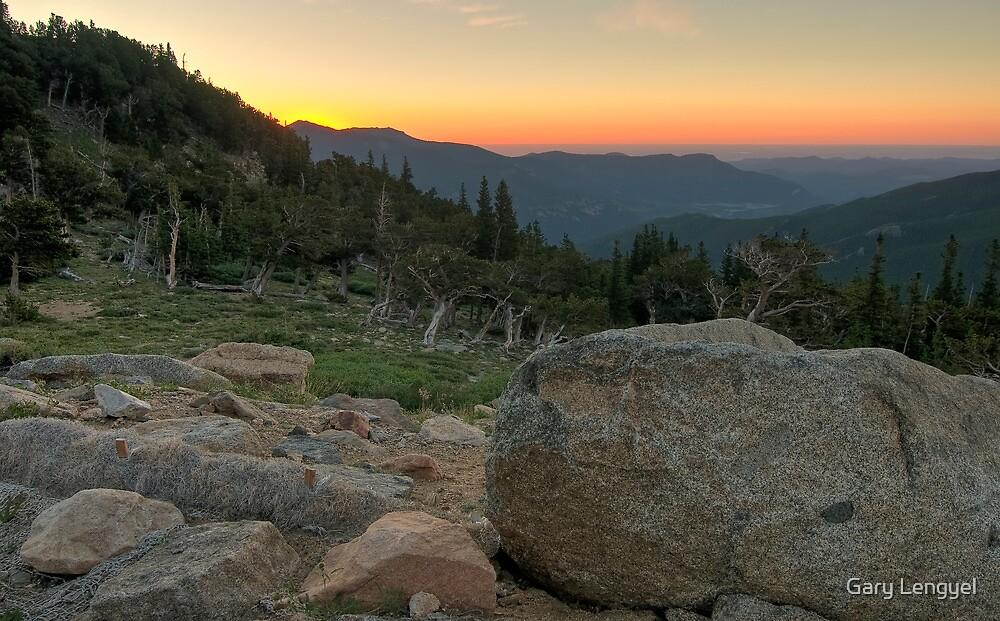 Sunrise over the Plains by Gary Lengyel