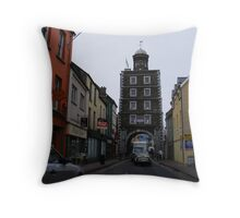 Through the town of Youghal Throw Pillow