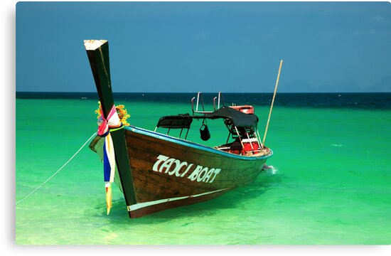 Taxi Boat by Adrian Evans