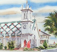 St. Paul's Episcopal Church, Ironton, Missouri by KipDeVore