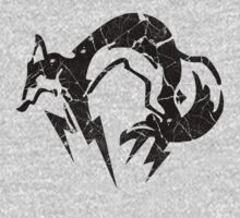 Foxhound V2 (Black) Kids Tee