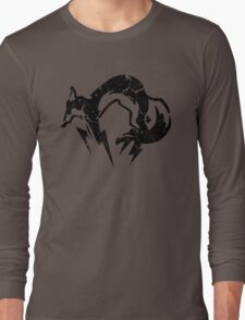 Foxhound V2 (Black) Long Sleeve T-Shirt