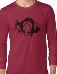 Foxhound V2 (Black) Long Sleeve T-Shirt