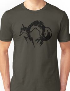 Foxhound V2 (Black) Unisex T-Shirt