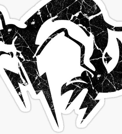 Foxhound V2 (Black) Sticker