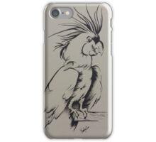 Black Palm Cockatoo iPhone Case/Skin