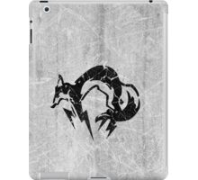 Foxhound V2 (Black) iPad Case/Skin