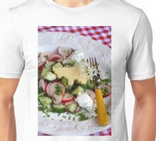 Salad and Cheese Unisex T-Shirt