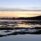 Sunset Over Bridlington Bay by Merice  Ewart-Marshall - LFA