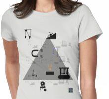 """Physics Symbols 1""© Womens Fitted T-Shirt"