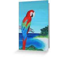 Parrot Bay 2 Greeting Card