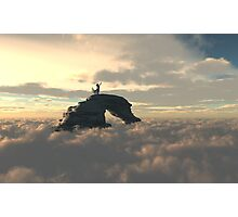 Above the Clouds Photographic Print