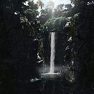 Secret Waterfall by 3DdesktopsUK