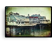 Brighton's Victorian West Pier Canvas Print
