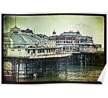 Brighton's Victorian West Pier Poster