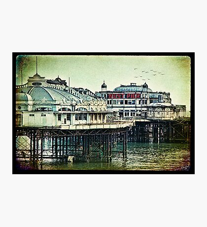 Brighton's Victorian West Pier Photographic Print