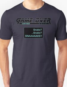 Metal Gear Solid : GAME OVER T-Shirt