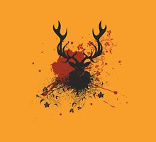 Grunge Stag with Floral T-Shirt