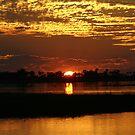 Orange dusk by jozi1
