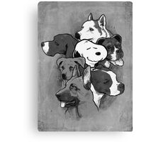 Doggies! Canvas Print