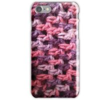 Crochet In Pinks iPhone Case/Skin