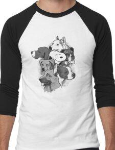 Doggies! Men's Baseball ¾ T-Shirt